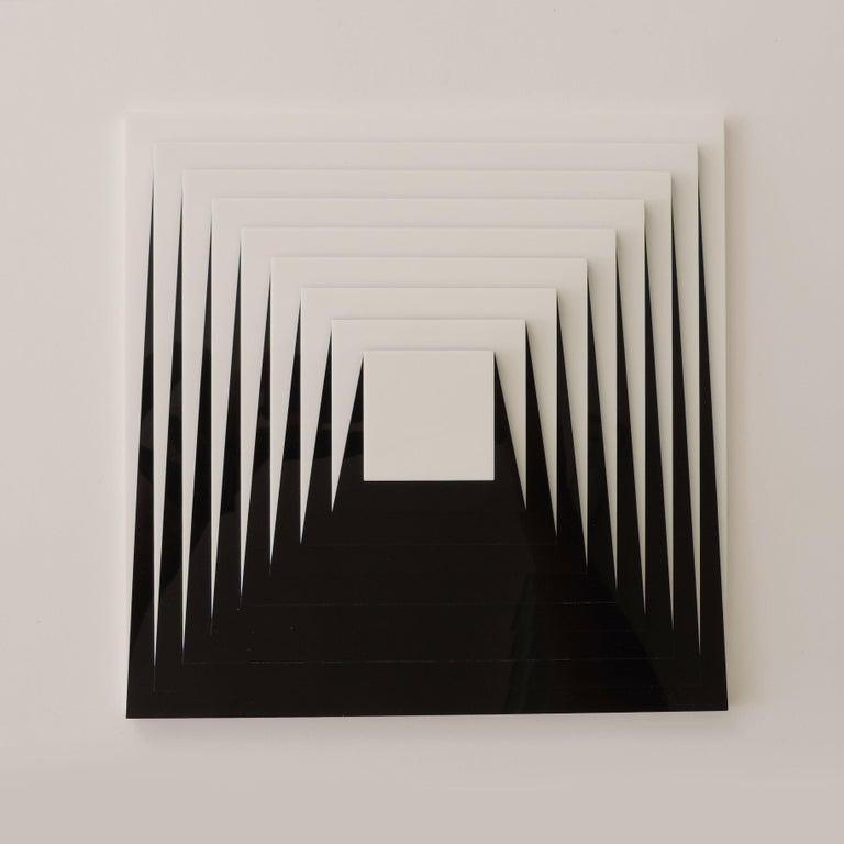 Modern Marcello Morandini Optical Sculpture / Multiple, Italy, 2005 For Sale