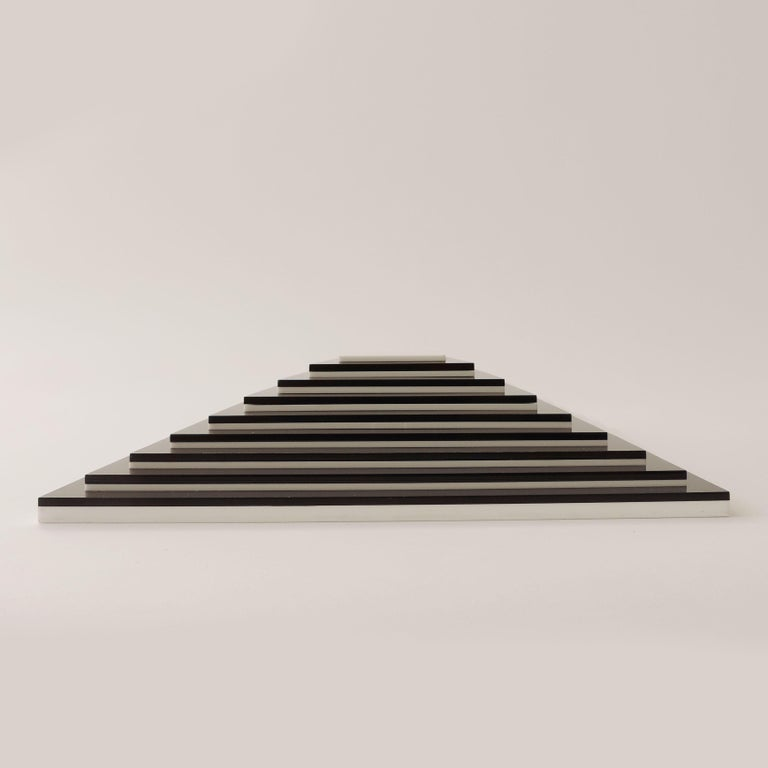 Italian Marcello Morandini Optical Sculpture / Multiple, Italy, 2005 For Sale