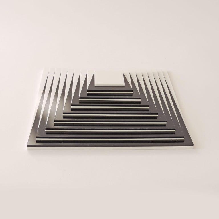 Contemporary Marcello Morandini Optical Sculpture / Multiple, Italy, 2005 For Sale