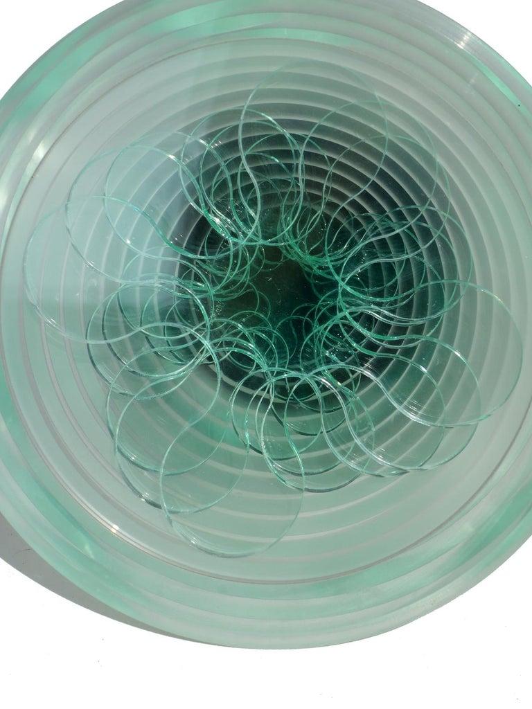 Modern Marcello Morandini Plexiglass Sculpture For Sale