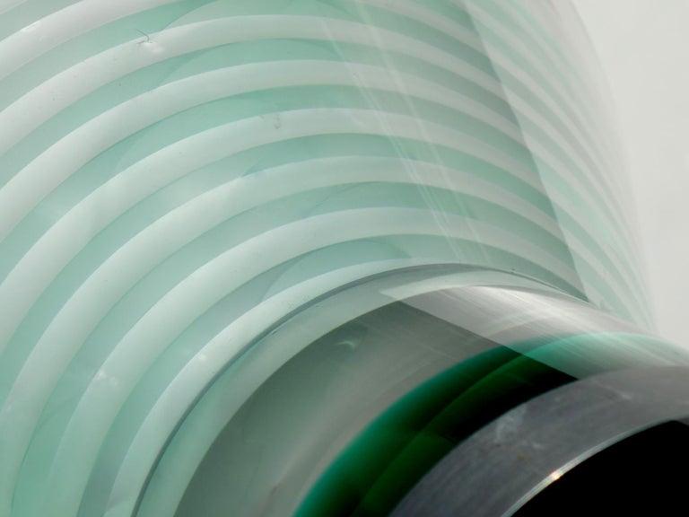 Marcello Morandini Plexiglass Sculpture In Excellent Condition For Sale In Brescia, IT