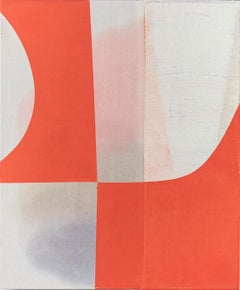 """Marcelyn McNeil """"Pieced Together, series no.2"""" Abstract Oil Painting"""