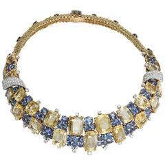 Marchak Sapphires Necklace