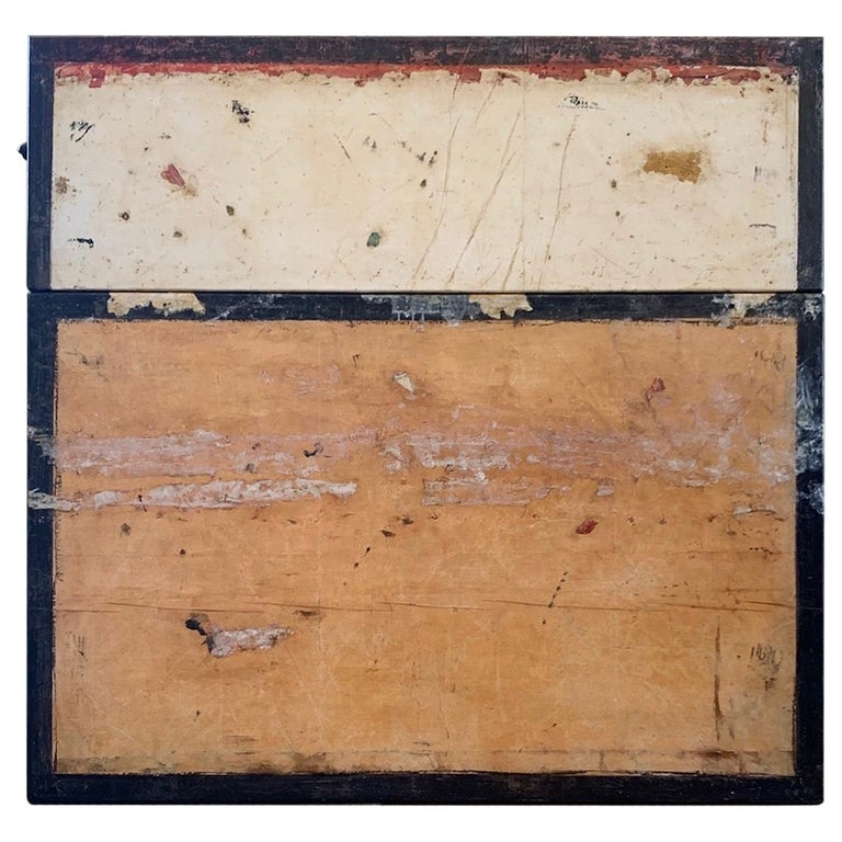 """Marcia Meyers Painting """"Framento del Muro MMVII - 1"""" For Sale"""