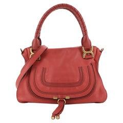 Marcie Satchel Leather Medium