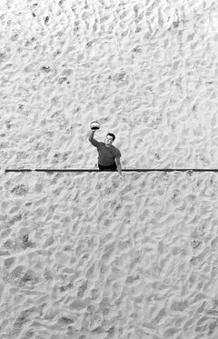 Cross The Line - Contemporary Symbolic Black And White Photography