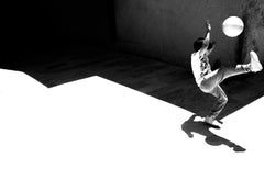The Game - Contemporary Symbolic Black And White Photography