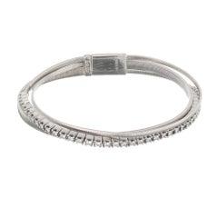 Marco Bicego 1.14 Carat Diamond White Gold Multi-Strand Bracelet