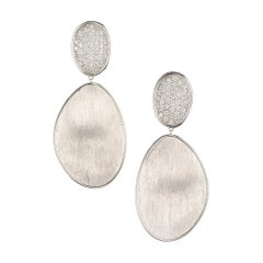 Marco Bicego 1.33 Carat Diamond White Gold Drop Dangle Earrings