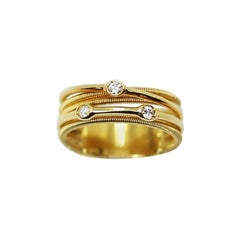 MarCo Bicego 18 Karat Gold Interlace Jewelry with Diamonds
