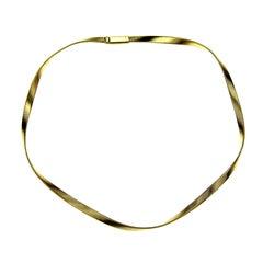 Marco Bicego 18 Karat Gold Marrakech Supreme Single Strand Collar Necklace