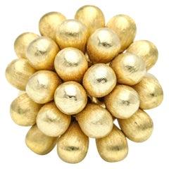 Marco Bicego 18 Karat Yellow Gold Acapulco Cluster Ring