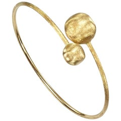 Marco Bicego Africa Yellow Gold Large Bead Hugging Bangle SB44