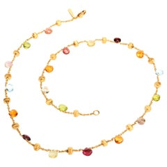 Marco Bicego Colors of Candy 18 Karat Choker Necklace
