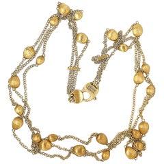 Marco Bicego Confetti Oro 18 Karat Gold Necklace