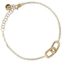 Marco Bicego Delicati Yellow Gold Rectangle Bracelet BB1811