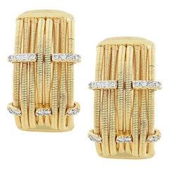 Marco Bicego Diamond Hoop Earrings