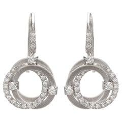 Marco Bicego Diamond & White Gold Earrings