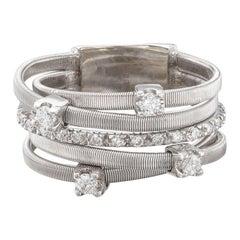 Marco Bicego Diamond & White Gold Ring