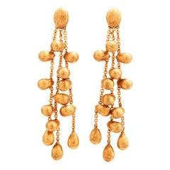 Marco Bicego Drops of Gold 18 Karat Chandelier Earrings
