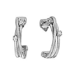 Marco Bicego Goa White Gold and Diamonds Earrings OG296 B W 01