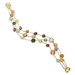 Marco Bicego Jaipur 3-Strand Gemstone Bracelet BB1306 MIX01 Y 02