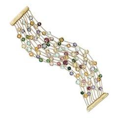 Marco Bicego Jaipur Mixed Gemstones Bracelet BB1464 MIX01 Y