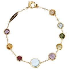 Marco Bicego Jaipur Single Strand Mixed Gemstones Bracelet BB1304 MIX01 Y 02