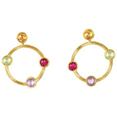 Marco Bicego Jaipur Yellow Gold Earring Ob977 Mix01