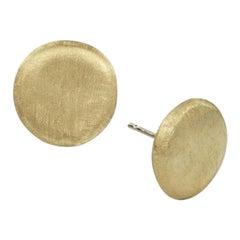 Marco Bicego Jaipur Yellow Gold Medium Stud OB882