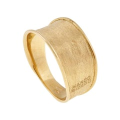 Marco Bicego Lunaria 18 Karat Yellow Gold Narrow Ring AB549 Y 02
