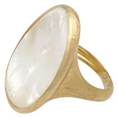 Marco Bicego Lunaria Gold Mother of Pearl Ring