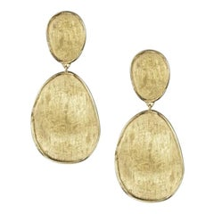 Marco Bicego Lunaria Gold Small Double Drop Earrings OB1348
