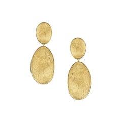 Marco Bicego Lunaria Yellow Gold Medium Double Drop Earrings OB1346-Y