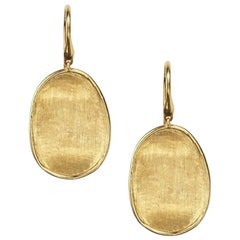 Marco Bicego Lunaria Yellow Gold Small French Wire Earrings OB1342A