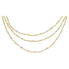 0b038c5a0dac0b Marco Bicego Marrakech Yellow Gold and Diamond Necklace CG624 B YW M5