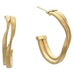 Marco Bicego Marrakeck Yellow Gold Hoop Earrings OG335 Y 01