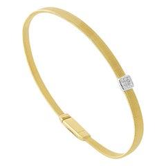 Marco Bicego Masai Yellow Gold and diamonds Bracelet BG731 B YW M5