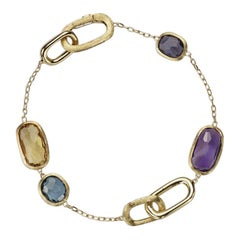 Marco Bicego Murano Gold and Gemstone Bracelet BB1668-MIX300-Y