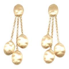 Marco Bicego Siviglia Gold 3 Strand Earrings