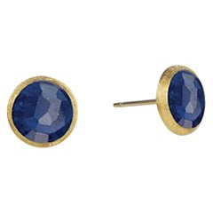 Marco Bicego Yellow Gold and Lapis Petite Stud Earrings OB957 LP01 Y 02