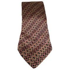 Marco Laurenti multicoloured silk tie