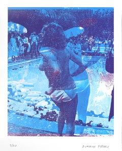 Blue Swimming Pool AP (5/20)