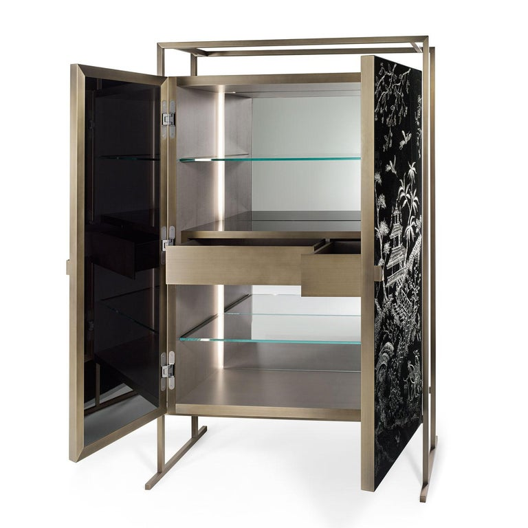 Marco Polo Bar Cabinet In New Condition For Sale In Milan, IT