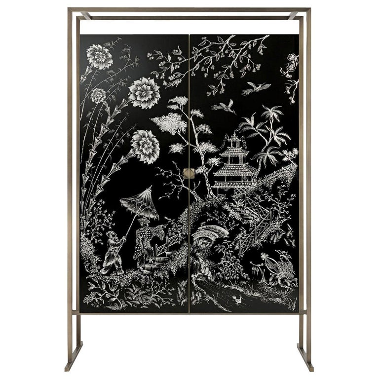 Marco Polo Bar Cabinet For Sale