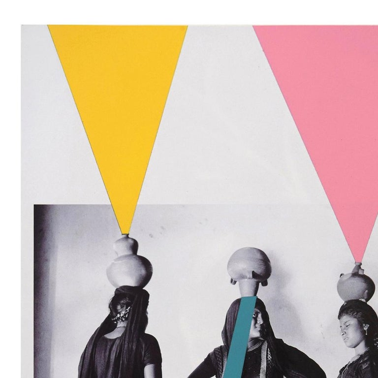 In this series of works Marco Rountree has taken classic photographic images by Agustin Jimenez and has re-interpreted them by using acrylic spray paint, blocking or adding color elements to the image. These works form part of Rountree's extensive