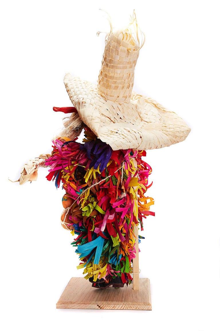 Mago de Putla - Wizard of Putla - Mexican Folk Art  Cactus Fine Art For Sale 9
