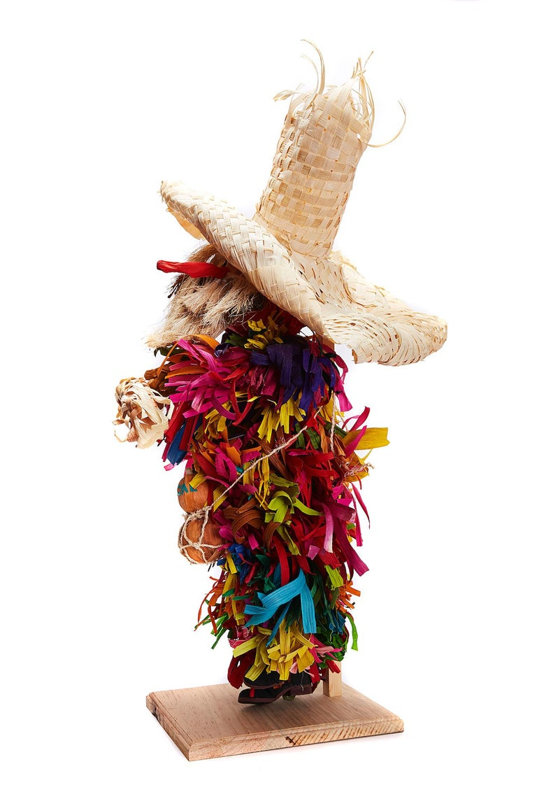 Mago de Putla - Wizard of Putla - Mexican Folk Art  Cactus Fine Art For Sale 10