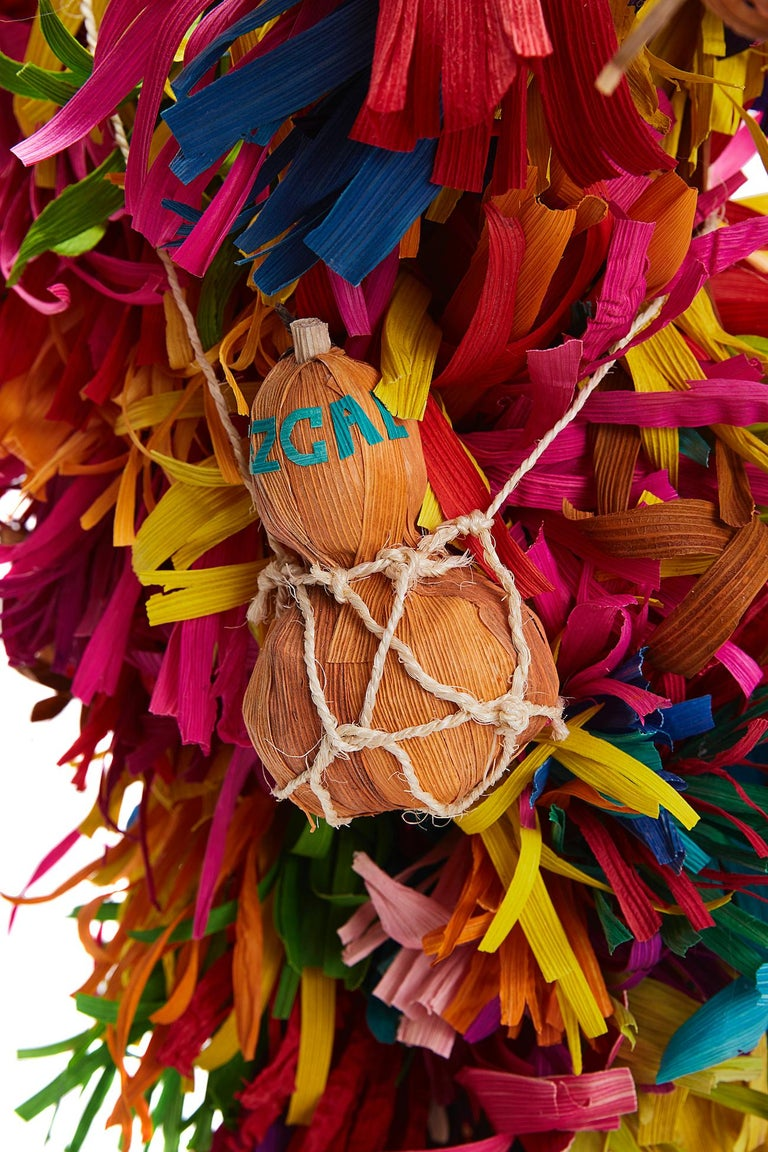 Mago de Putla - Wizard of Putla - Mexican Folk Art  Cactus Fine Art For Sale 1