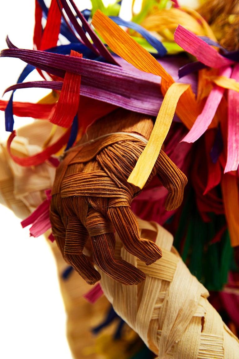 Tiliche de Putla - Mexican Folk Art  Cactus Fine Art For Sale 5